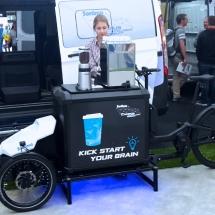 Sortimo Nákladný e-bike ProCargo CT1 - pojazdná kaviareň