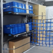 Sortimo zariadenie pre kuriérov