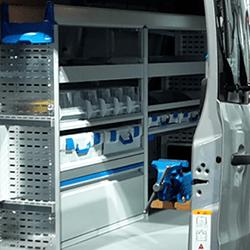 Úspora hmotnosti - zariadenie úžitkových vozidiel sortimo