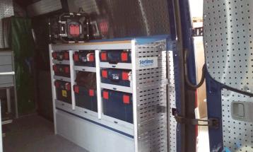 BOSCH L-BOXX regálové systémy SORTIMO 3