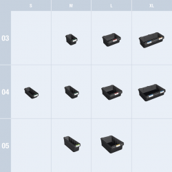 SR-BOXXen-Tabelle