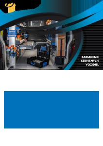 Zariadenie vozidiel SORTIMO - slovensky katalog - Mobilna dielňa - Technia Nové Zámky